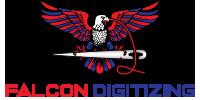 Falcon Digitizing Logo